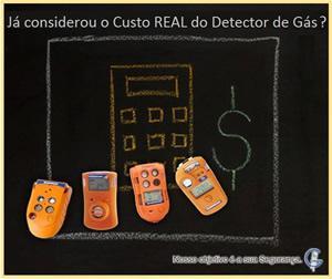 Custo Real do Detector de Gás
