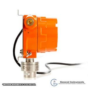 Sistema fixos de detector de gás