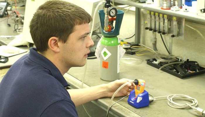 Por que é importante calibrar o detector de gás?