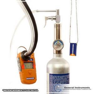 Serviço decalibração de detector de gases