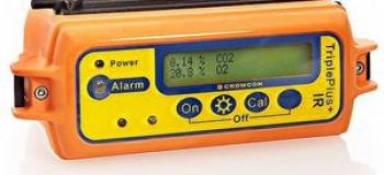 Oxímetro detector de gases