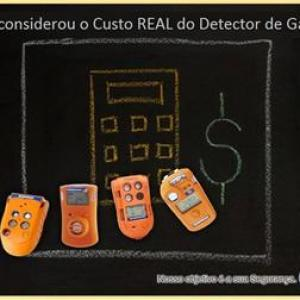 Custo Real do Detector de Gás