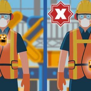 Em qual região do corpo devemos usar o detector de gás?